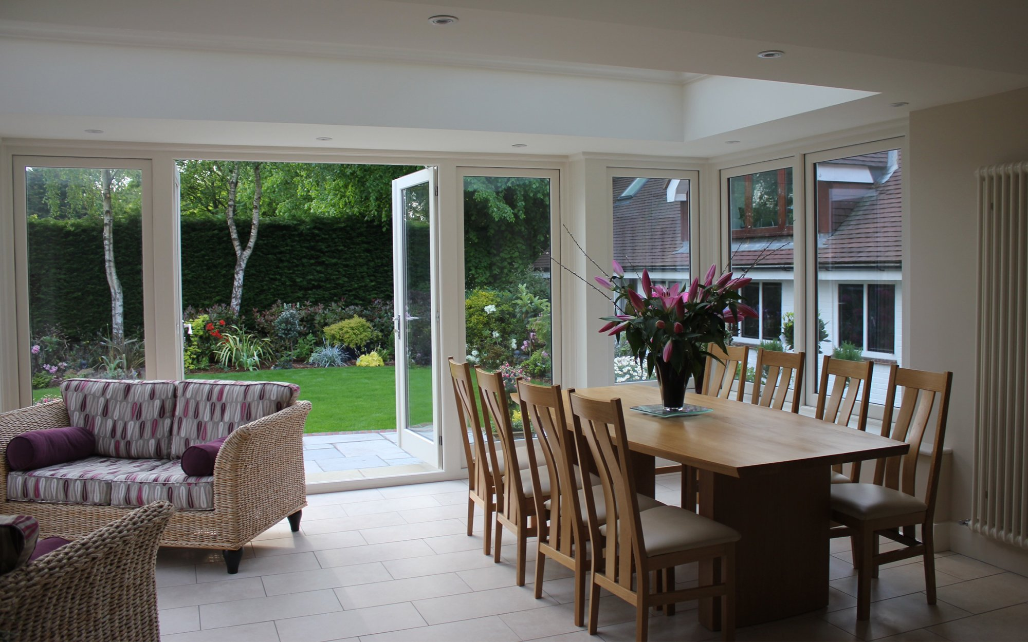 Bespoke Dining Set with Table and Chairs - Bourne's Fine Furniture Sussex