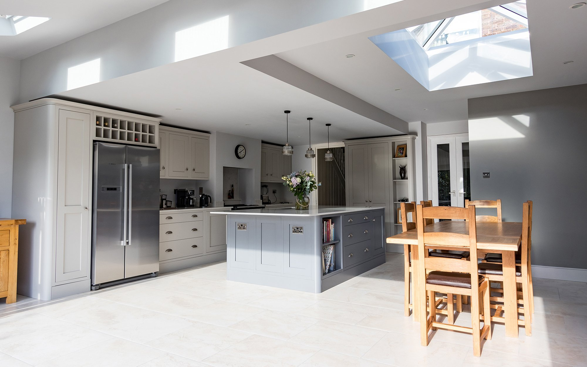 Luxury Modern Bespoke Kitchen - Bourne's Fine Furniture Sussex