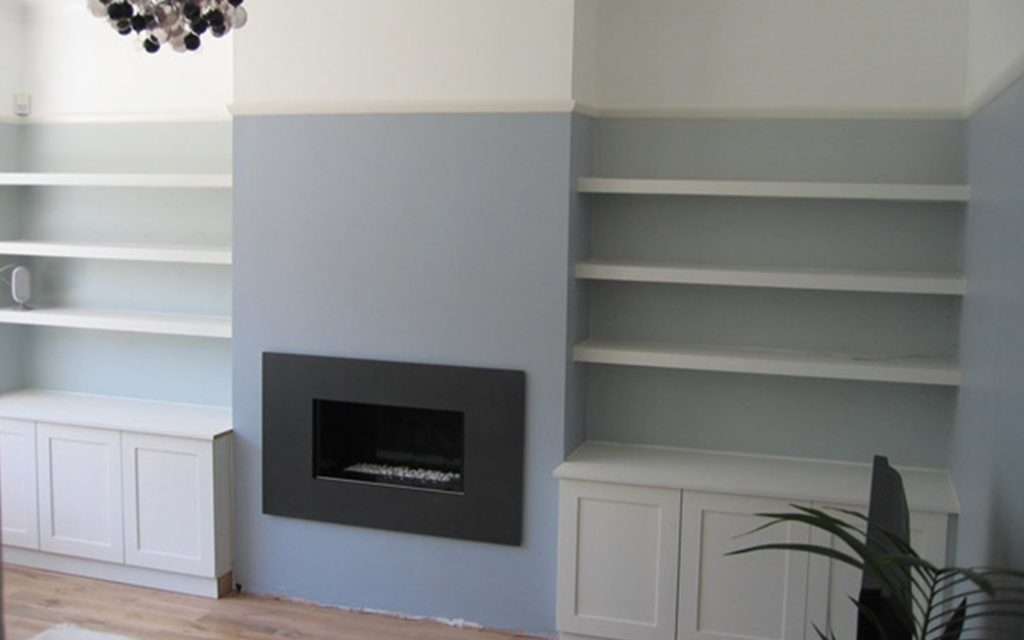 Handcrafted Alcove Units & Floating Shelves - Bourne's Fine Furniture