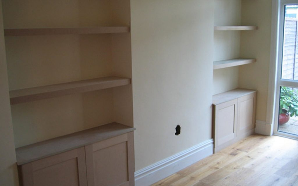 Bespoke Alcove Units & Floating Shelves - Bourne's Fine Furniture