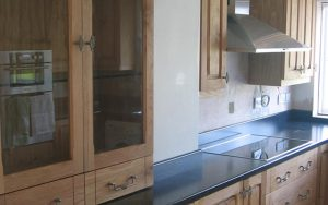 American Oak Fitted Kitchen - Bourne's Fine Furniture