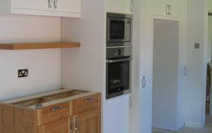 Bespoke American White Oak Fitted Kitchen - Bourne's Fine Furniture