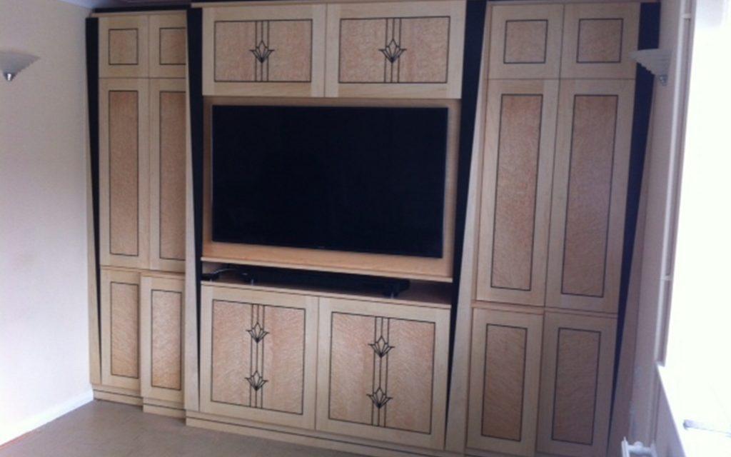 Bespoke Art Deco Cabinets - Bourne's Fine Furniture
