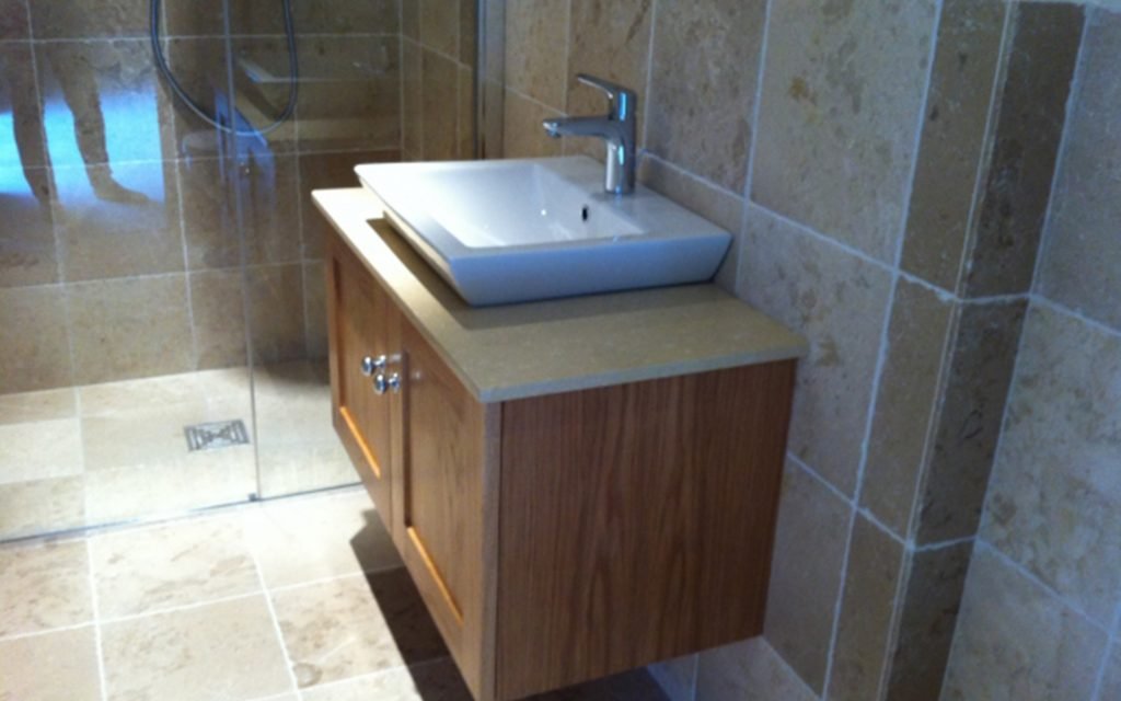 Handmade Bathroom Vanity Unit - Bourne's Fine Furniture
