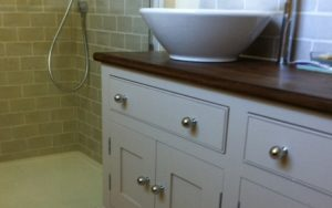 Handmade Bathroom Vanity Unit - Bourne's Fine Furniture
