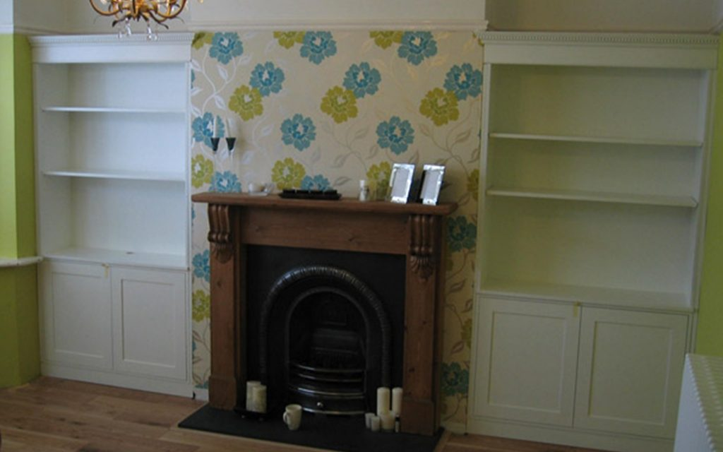 Bespoke Alcove Units - Bourne's Fine Furniture