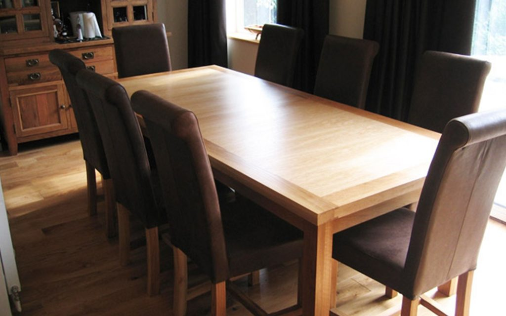 Bespoke Dining Table - Bourne's Fine Furniture