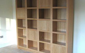 Bespoke Handmade Bookcase - Bourne's Fine Furniture