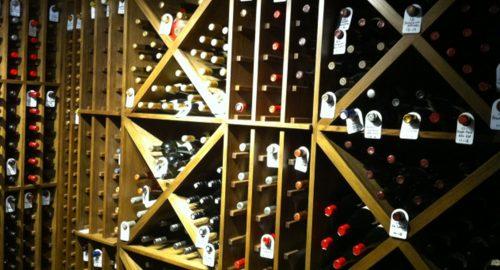 Bespoke Wine Room - Bourne's Fine Furniture
