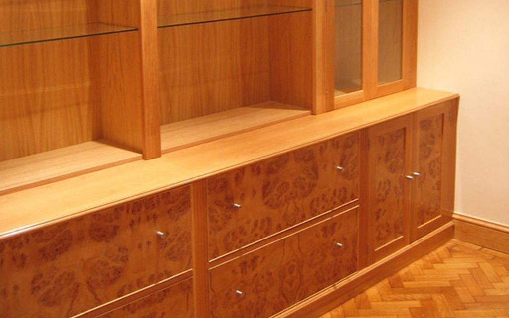 Bur Oak Office Furniture - Bourne's Fine Furniture