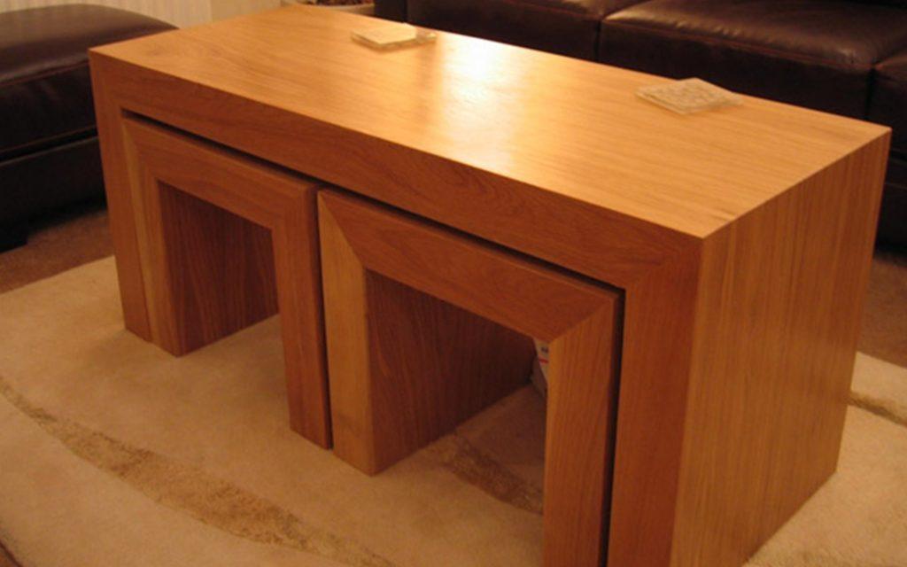 Bespoke Coffee Table - Bourne's Fine Furniture