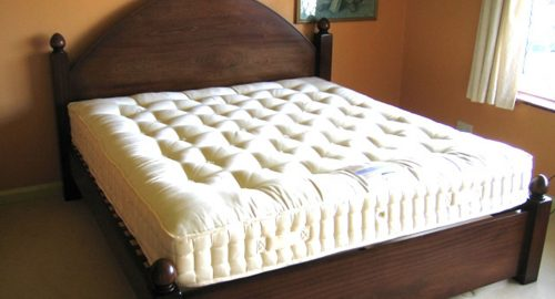 Handcrafted Gothic Bedframe - Bourne's Fine Furniture