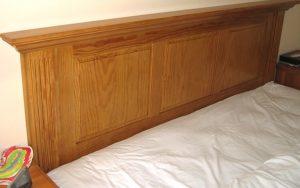 Bespoke Handcrafted Headboard - Bourne's Fine Furniture