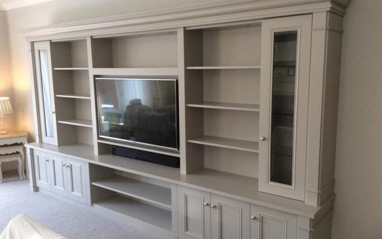 Bespoke TV Unit - Bourne's Fine Furniture