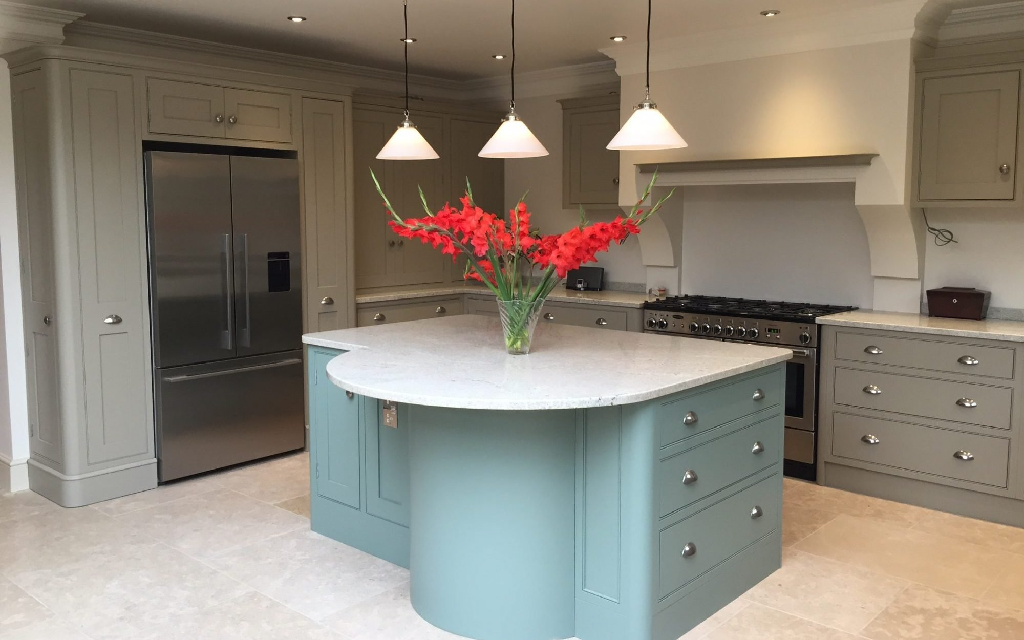 Bespoke Modern Kitchen - Bourne's Fine Furniture