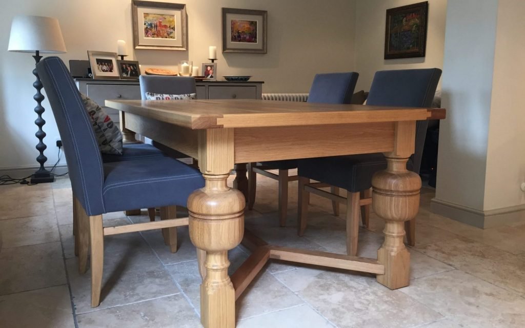 Handmade Unique Dining Table Set - Bourne's Fine Furniture