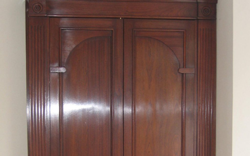 Mahogany Fitted Wardrobes - Bourne's Fine Furniture