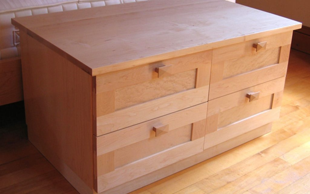 Maple Chest of Drawers - Bourne's Fine Furniture