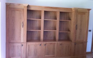 Oak Bookshelves - Bourne's Fine Furniture