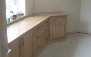 Oak Walk-In Wardrobe and Storage Set - Bourne's Fine Furniture