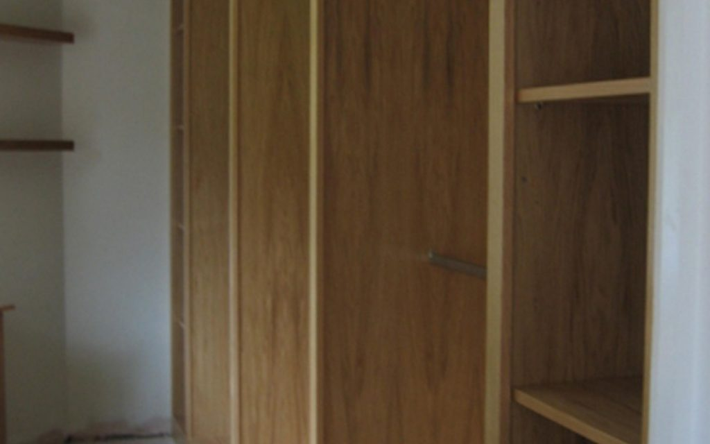 Oak Walk-In Wardrobe - Bourne's Fine Furniture
