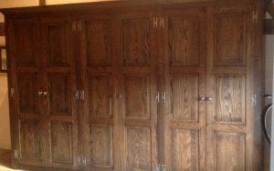 Jacobean Style Oak Wardrobes - Bourne's Fine Furniture
