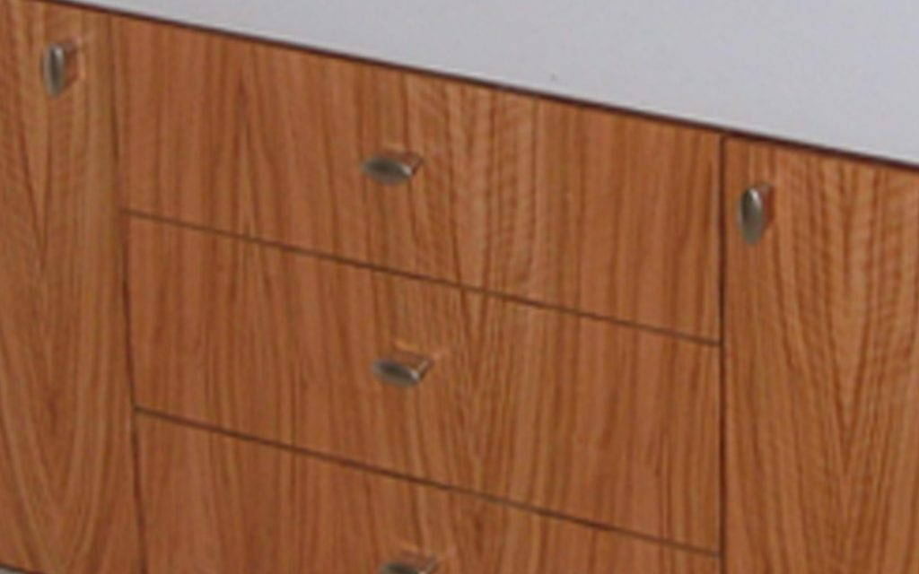 Olive Veneer Bathroom - Bourne's Fine Furniture