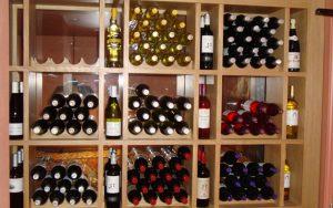Bespoke Wine Rack in Pub Cellar