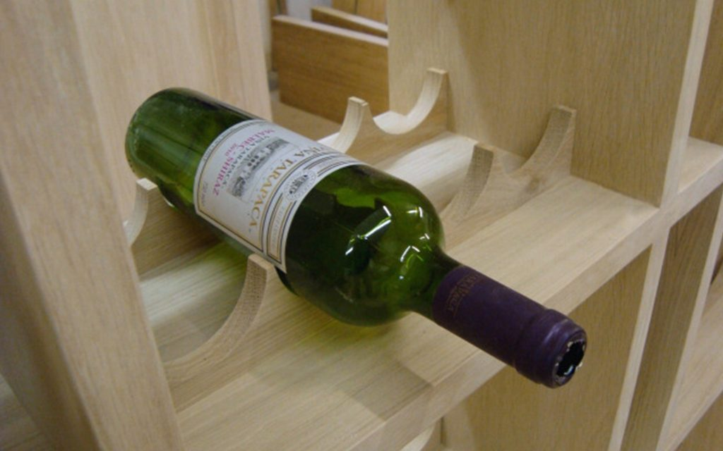 Bespoke Wooden Wine Rack
