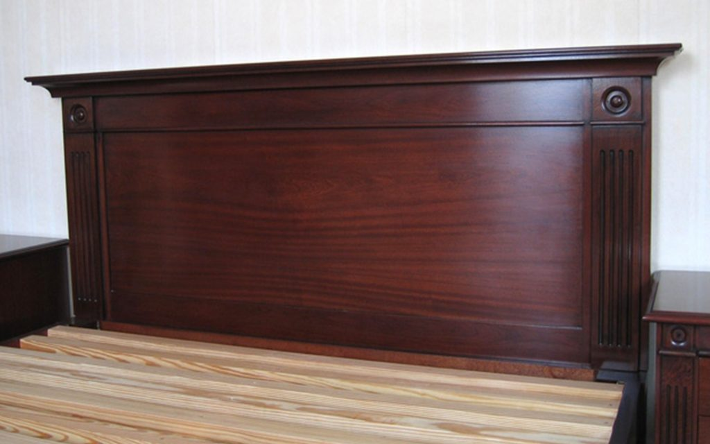 Solid Mahogany Headboard - Bourne's Fine Furniture
