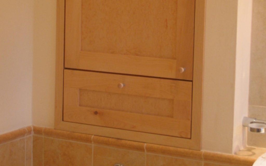 Solid Maple Bathroom Furniture - Bourne's Fine Furniture