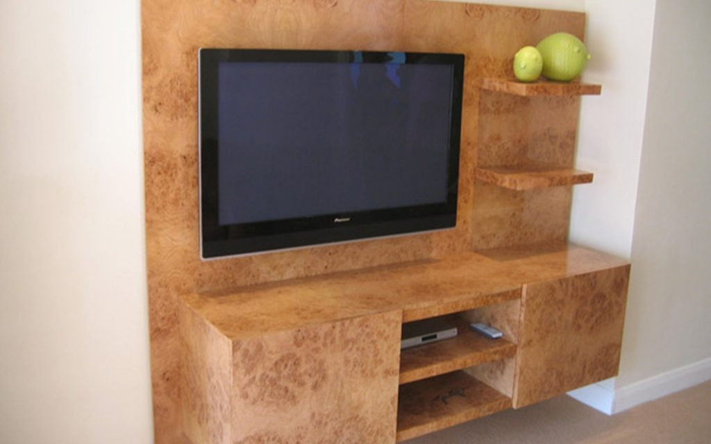Wall Mounted Television Unit - Bourne's Fine Furniture