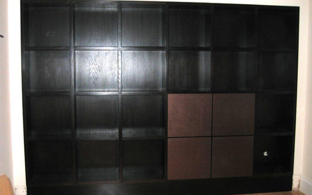 Fine Handmade Wenge Bookcase - Bourne's Fine Furniture