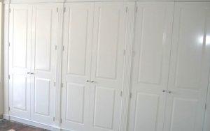 White Built In Wardrobes - Bourne's Fine Furniture