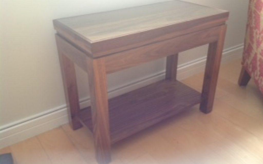 Handmade Console Table - Bourne's Fine Furniture