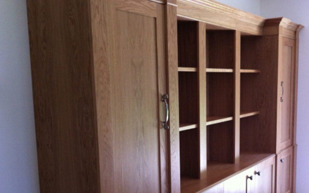 Oak Bookcase - Bourne's Fine Furniture