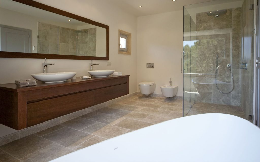 Fineca Bathroom | Bourne's Fine Furniture