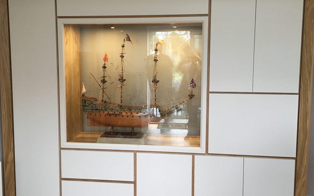 Galleon Display Cabinet | Bourne's Fine Furniture
