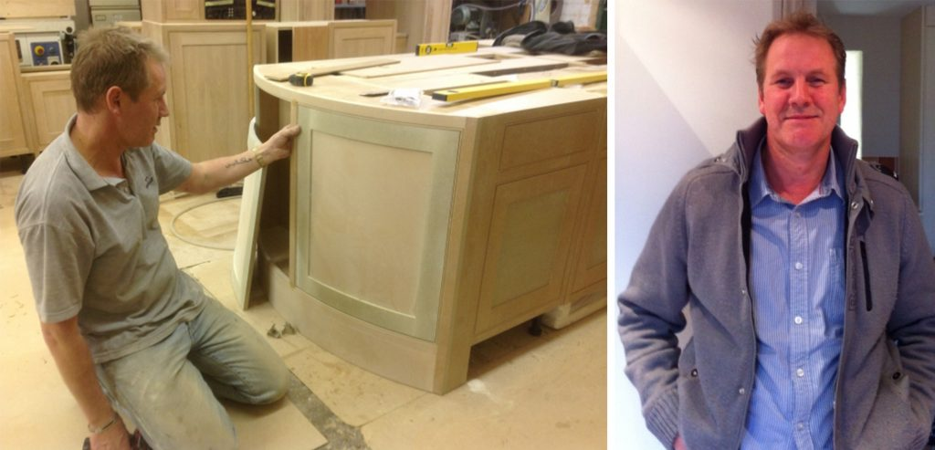 Fine Furniture Maker Ian Bourne of Bourne's Fine Furniture