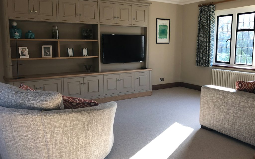 Bespoke Media Unit | Bourne's Fine Furniture
