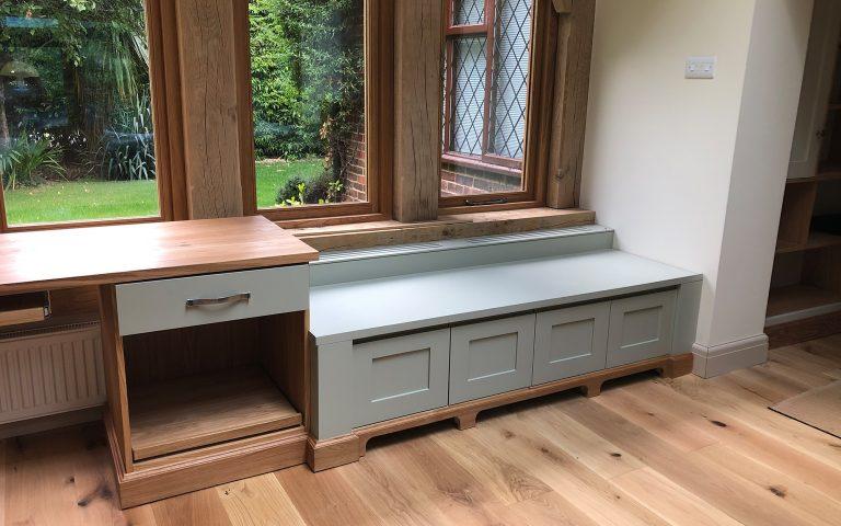 Bespoke Desk and Storage | Bourne's Fine Furniture
