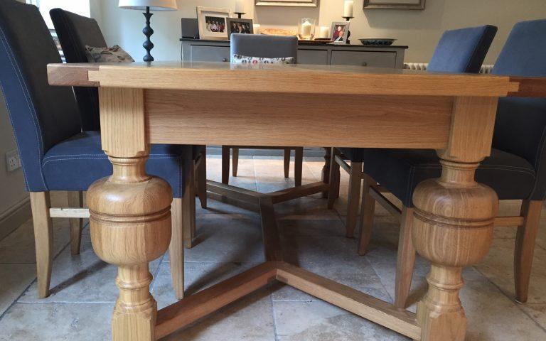 Bespoke Dining Table | Bourne's Fine Furniture
