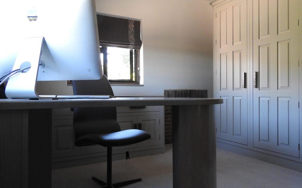 Bespoke Office in West Sussex   Bourne's Fine Furniture
