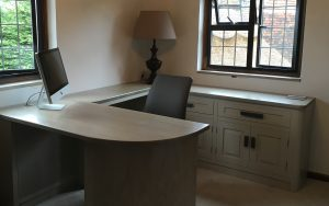 Bespoke Office in West Sussex | Bourne's Fine Furniture